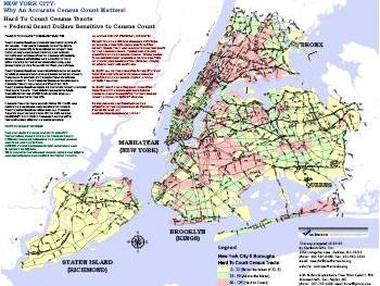 New York Census Maps Southern Echo - New york city map with boroughs